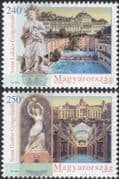 Hungary 2011 Spa Hotels/ Buildings/ Tourism/ Travel/ Architecture/ Statues/ Heritage/ History 2v set (n45749)