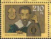 Hungary 2017 Monteverdi/ Music/ Composers/ People/ Musical Instruments 1v (n45767)