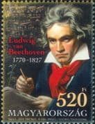Hungary 2020  Beethoven/ Music/ Musicians/ Composers/ People/ Entertainment  1v  (n46404)