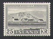 Iceland 1957 President  /  Buildings  /  Architecture  /  Animation 1v (n34522)