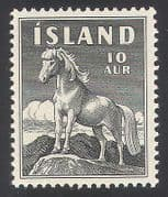 Iceland 1958 Horses  /  Pony  /  Animals  /  Nature 1v (n30737)