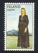 Iceland 1965 National Costume  /  Clothes  /  Textiles 1v (n32706)