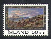 Iceland 1970 Art  /  Painting  /  Paintings  /  Artists  /  People  /  Landscapes 1v (n37872)