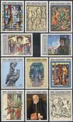 Iceland 1974 Art/ Paintings/ Sculpture/ Tapestry/ Stained Glass/ History/ Legends 11v set (n41825)