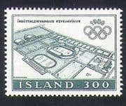 Iceland 1980 Sports  /  Olympic Games  /  Olympics  /  Stadium  /  Buildings 1v (n34859)