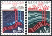 Iceland 1983 Thermal Energy/ Europa/ Nature /Geology/ Volcano/ Natural Power/ Science/ Technology 2v set (n25671)