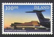 Iceland 1987 Airport  /  Buildings  /  Architecture  /  Planes  /  Aviation  /  Transport 1v n34502
