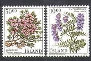 Iceland 1988 Thyme  /  Flowers  /  Plants  /  Herbs  /  Nature 2v set (n37576)