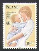 Iceland 1988 UN  /  WHO  /  Health  /  Medical  /  Welfare  /  Mother  /  Baby 1v (n34705)