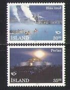 Iceland 1993 Landscapes  /  Tourism  /  Spa  /  Lagoon  /  Buildings  /  Architecture 2v set n27463