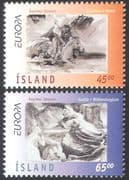 Iceland 1997 Europa/ Legends /Folk Tales/ Stories/ Horses/ Animals 2v set (n41350)