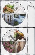 Iceland 2005 Europa/ Gastronomy/ Food/ Fish/ Chillies/ Flowers/ Cooking 2v set (n46065)