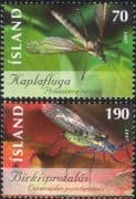 Iceland 2007 Cranefly/ Aphid/ Fly/ Flies/ Insects/ Nature/ Conservation 1v (is1051)