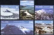 Iceland 2007 Glaciers/ Mountains/ Views/ Landscapes/ Environment 5v set (n36047)