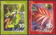 Iceland 2007 Soil Conservation/ Forests/ Trees/ Nature/ Environment 2v set (is1049)