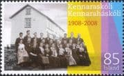 Iceland 2008 University Education 100th/ People/ Buildings/ Architecture 1v (is1059)