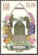 Iceland 2009 Parks/ Gardens/ Flowers/ Trees/ Plants/ Nature/ Arch/ Gateway 1v (n42532)