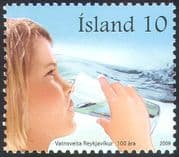 Iceland 2009 Water Supply/ Drink/ Nature/ Business/ Industry 1v (n42353)