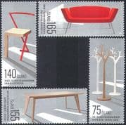Iceland 2010 Furniture Design/ Chair/ Table/ Sofa/ Art/ Craft/ Engineering 4v set (n42326)