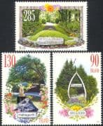 Iceland 2010 Parks/ Gardens/ Flowers/ Statue/ Trees/ Plants/ Nature 3v set (n42413)