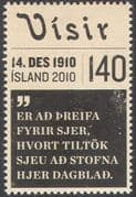 "Iceland 2010 ""Visir""/ Newspaper/ News/ Printing/ Communication/ Business/ Industry 1v (n42495)"
