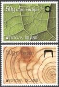 Iceland 2011 Europa/ Forests/ Trees/ Nature/ Environment/ Conservation 2v set (n42509)