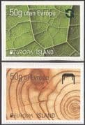 Iceland 2011 Europa/ Forests/ Trees/ Nature/ Environment/ Conservation 2v set s/a (ex bklt) (n42511)