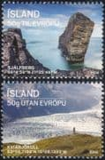 Iceland 2014 Glaciers/ Mountains/ Views/ Rock Formation/ Environment/ Geology/ Tourism 2v set (is1022)