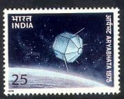 India 1975 Satellite  /  Space  /  Communications  /  Telecomms  /  Broadcasting 1v (n39315)