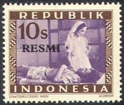 Indonesia 1949 Official/ Nurse/ Medical/ Health/ Hospital/ Welfare 1v (n42455)
