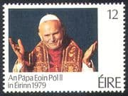 Ireland 1979 Pope John Paul II /Visit /Popes/ Papal/ People/ Religion 1v (n41292)
