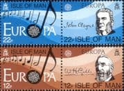 Isle of Man 1985 Europa/ Composers/ Music/ Musicians/ Musical Score/ Anthem/ Hymn  4v set  (b5420a)