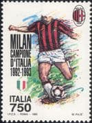 Italy 1993 Milan Football Champions/ Sports/ Games/ Soccer 1v (n45067m)