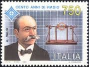 Italy 1994 Augusto Righi/ Radio/ People/ Communications/ Telecomms/ Science/ Physics 1v (n46131)