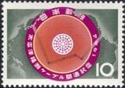 Japan 1964 Telephone Cable  /  Communications 1v (n25383)