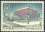 Japan 1982 Bank/ Commerce/ Banking/ Horses/ Buildings/ Architecture 1v (n28563)