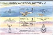 Jersey 1993 Royal Air Force/ RAF/ Planes/ Aircraft/ Transport/ Aviation 2v m/s (n43145)