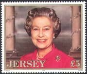Jersey 1996 Queen Elizabeth II/ QEII/ Royalty/ Birthday 70th Anniv 1v (n22447b)