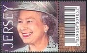 Jersey 2001 Queen Elizabeth II/ QEII/ Royalty/ People/ 75th Birthday 1v (n22447c)