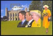 Jersey 2003 HM QEII  /  Prince William  /  Royalty m  /  s (n29592)
