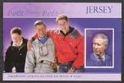 Jersey 2008 Prince Charles  /  Royalty  /  Birthday m  /  s  n27078