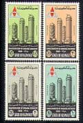 Kuwait 1968 Oil Refinery  /  Petrol  /  Transport 4v set n30551