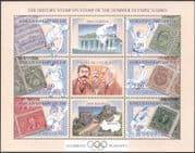 Kyrgyzstan 2002 Olympic Games/ Olympics/ Sports/ Stamp-on-Stamp/ S-on-S/ Cycling/ Fencing/ Rowing/ Sailing 4 x 6v m/s (s2216e)