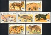 Laos 1984 Ausipex/ Wallaby/ Platypus/ Tiger Cat/ Wombat/ Glider/ Animals/ Nature/ Wildlife/ StampEx 7v set (b8222)