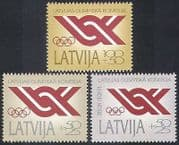 Latvia 1991 Olympic Games  /  Olympics  /  Committee  /  Rings  /  Sports  /  Games 3v (n40955)