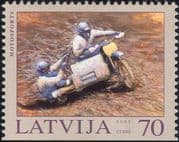 Latvia 2003 Motorsports/ Motorcycle/ Motor Bike/ Sidecar/ Sports/ Racing/ Transport 1v (s6237)