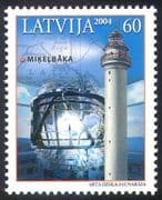 Latvia 2004 Mikelbaka Lighthouse/ Lighthouses/ /Maritime Safety/ Buildings/ Architecture 1v (n13239)