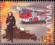 Latvia 2015 Fire Fighters/ Firemen/ Emergency Vehicles/ Engines/ Rescue 1v (n46241)