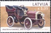 Latvia 2017 Krastin/ Vintage Cars/ Motors/ Motoring/ Transport Museum 1v (lv1004)