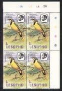 Lesotho 1982 Birds  /  Nature  /  Wildlife  /  Shrike c  /  b (a74)